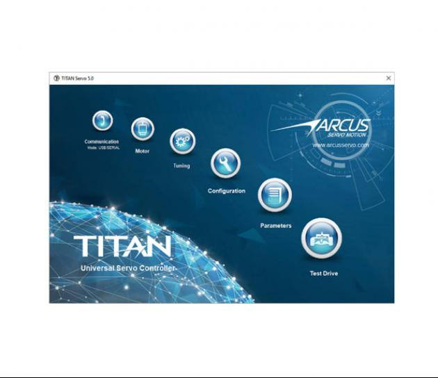 TITAN-SVX 智能運動控制器驅動器 4