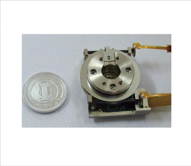 超小型超音波線性平台 - Θ軸平台 1